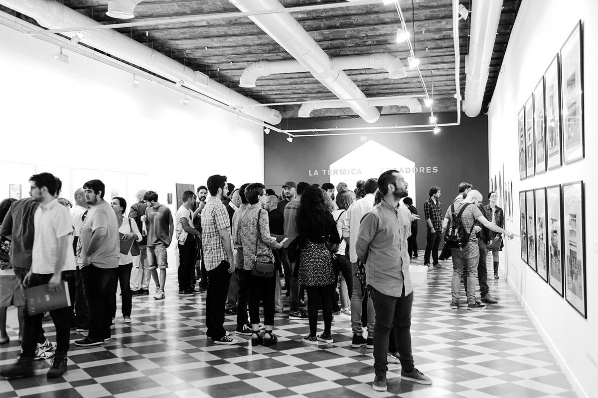 Exposición 'La Térmica Creadores 2015'